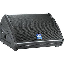 "dB Technologies FLEXSYS FM12 12"" 600W Active Coaxial Stage Monitor Wedge"