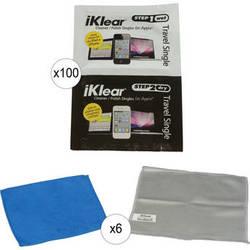 iKlear 2 Step Wet/Dry Singles, Model IK-SP100 - 200 Pack