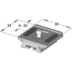 Arca-Swiss VarioKit Compact Quick Release Camera Plate for the MonoballFix System