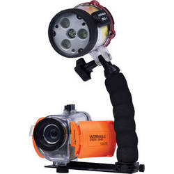 ULTRAMAX UXDV-3 HD 1080p Video Camera Premium Package with Underwater Housing and ULTRAPOWER-II Dive Light