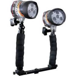 ULTRAMAX ULTRAPOWER-II 6W LED Wide-Angle Video Dive Light PRO Package