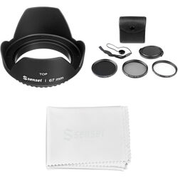 General Brand 67mm Filter Kit with Lens Hood