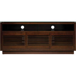 Bell'O WMFC602 No Tools Assembly Wooden A/V Cabinet (Chocolate Finish)