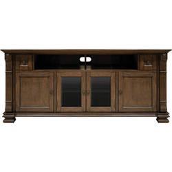 Bell'O PR36 Mocha Finish Wood Home Entertainment Cabinet