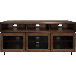 Bell'O PR45 Cocoa Finish Wood Home Entertainment Cabinet