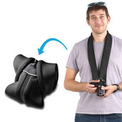 miggo Strap and Wrap for Mirrorless and Compact System Cameras (Black)