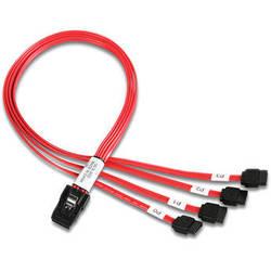 iStarUSA 4 SATA to Internal Mini SAS Cable (1.64')