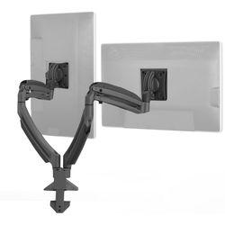 Chief Kontour K1D Dynamic Desk Clamp Mount, 2 Monitors (Black)