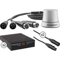 TC Electronic TC Electronic Analog Stereo Volume Control & Recoil Stabilizer Kit for Medium Sized Studio Monitors