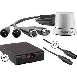 TC Electronic TC Electronic Analog Stereo Volume Control & Stabilizing Isolation Pad Kit for Small-Sized Studio Monitors
