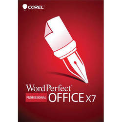 Corel WordPerfect Office X7 Professional Edition (DVD)
