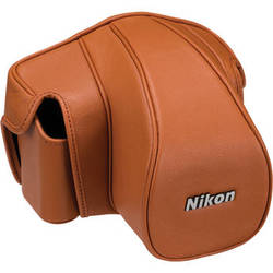 Nikon CF-D6S Leather Case Set for Nikon Df (Brown)