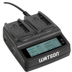 Watson Duo LCD Charger for VBK & VBT Series Batteries