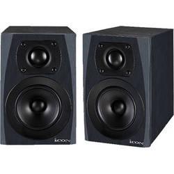 "Icon Pro Audio SX-4A 4.5"" Compact 2-Way Active Studio Monitors (Pair)"