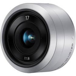 Samsung NX-M 17mm f/1.8 OIS Lens (Silver)