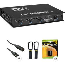 PSC DV PROMIX 3 Basic Field Mixer Kit
