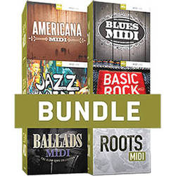 Toontrack Essential Drums MIDI 6 Pack - Drum MIDI Packs (Download)