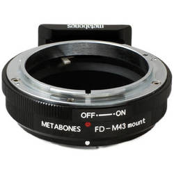 Metabones Canon FD Mount Lens to Micro Four Thirds Lens Mount Adapter (Black)