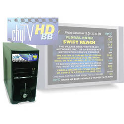Chytv 7A00345 HD Bulletin Board Graphics System (Tower Chassis)