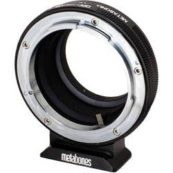 Metabones Canon FD Mount Lens to Fujifilm X-Mount Camera Lens Mount Adapter (Black Matte)