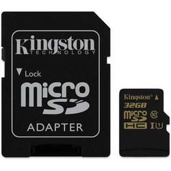 Kingston 32GB SDCA10 UHS-I microSDHC Memory Card (Class 10)