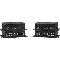 KanexPro HDBaseT Extender with 2-Port Ethernet Switch (330')