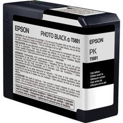 Epson UltraChrome K3 Photo Black Ink Cartridge (80 ml)