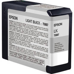 Epson UltraChrome K3 Light Black Ink Cartridge (80 ml)