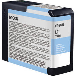 Epson UltraChrome K3 Light Cyan Ink Cartridge (80 ml)