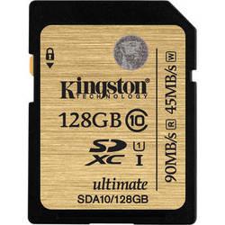 Kingston 128GB SDXC 300X Class 10 UHS-1 Memory Card