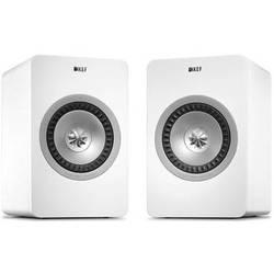 KEF X300A Wireless Powered 2-Way Digital Hi-Fi Speakers with USB Input (Pair, White)