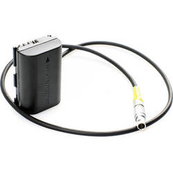 Movcam 4-Pin LEMO to Dummy Battery Power Cable for Canon 5D/7D