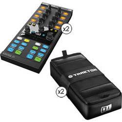 Native Instruments TRAKTOR KONTROL X1 Add-On Controller with Bag 2-Pack Kit