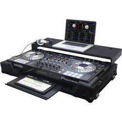 Odyssey Innovative Designs Black Label Pioneer DDJ-SZ DJ Controller Glide Style Case with Bottom GT Glide Tray
