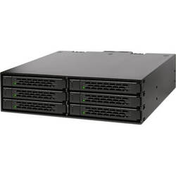 """Icy Dock ToughArmor MB996SP-6SB 6 x 2.5"""" SATA HDD/SSD Backplane Cage"""