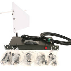 RFvenue 4-Channel Antenna Distributor with White Diversity Fin Antenna and Cables Bundle