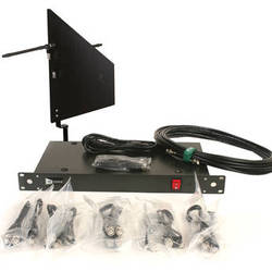 RFvenue 4-Channel Antenna Distributor with Black Diversity Fin Antenna and Cables Bundle