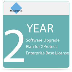 Milestone 2-Year Software Upgrade Plan for XProtect Enterprise Base License