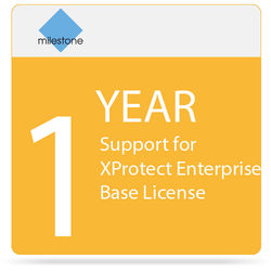 Milestone 1-Year SUP For XProtect Enterprise Base License