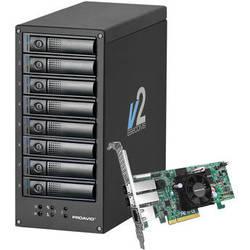 Proavio EB800MS V2 32TB (8 x 4TB) 8-Bay RAID Storage Solution with PCIe Controller Card