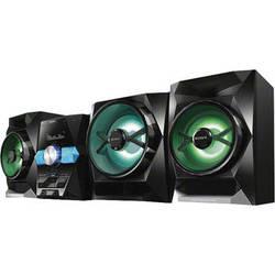 Sony LBT-GPX555 1800W Bluetooth Wireless Music System (Black)