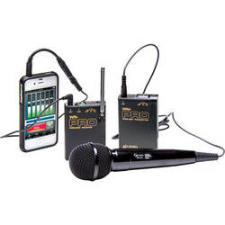 Azden WMS-PRO+i VHF Wireless Lavalier and Handheld Mic System