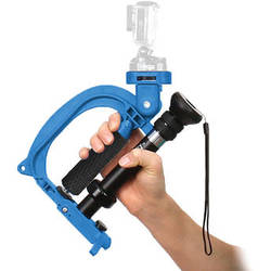 VariZoom StealthyGo Multi-Use Support & Stabilizer for GoPro/Small Camera (Blue)