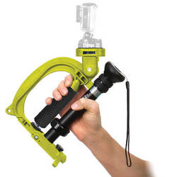 VariZoom StealthyGo Multi-Use Support & Stabilizer for GoPro/Small Camera (Yellow)
