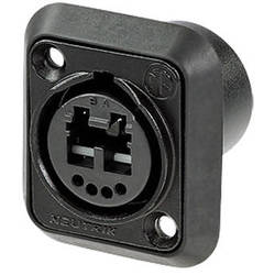 Neutrik NO2-4FDW-1-A opticalCon DUO Chassis Connector