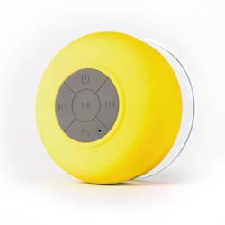 FRESHeTECH Splash Shower Tunes Bluetooth Waterproof Shower Speaker (Yellow)