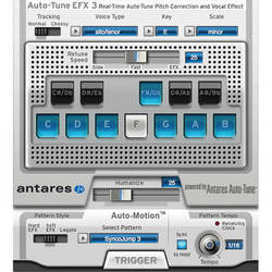 Antares Audio Technologies Auto-Tune EFX 3 - Real Time Pitch Correction and Auto-Tune Effect Plug-In (Download)