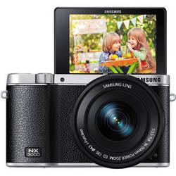 Samsung NX3000 Mirrorless Digital Camera with 16-50mm Lens (Black)