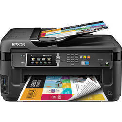 Epson WorkForce WF-7610 Wireless Color All-in-One Inkjet Printer