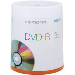 Memorex DVD-R 4.7GB 16x Single Sided Discs (100-Pack, Spindle Packaging)